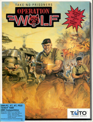 Operation Wolf DOS Game Cover