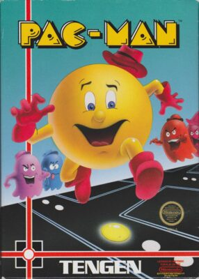 Pac-Man DOS Game Cover