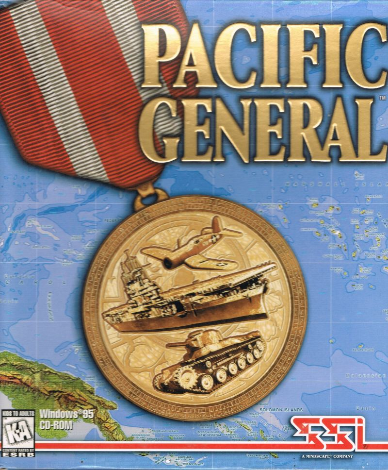 Pacific General DOS Game Cover