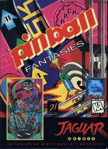 Pinball Fantasies old DOS Game Box Cover Art