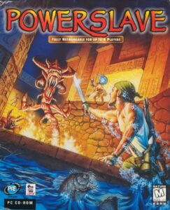Powerslave old DOS Game Box Cover Art