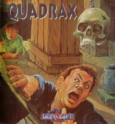 Quadrax DOS Game Cover