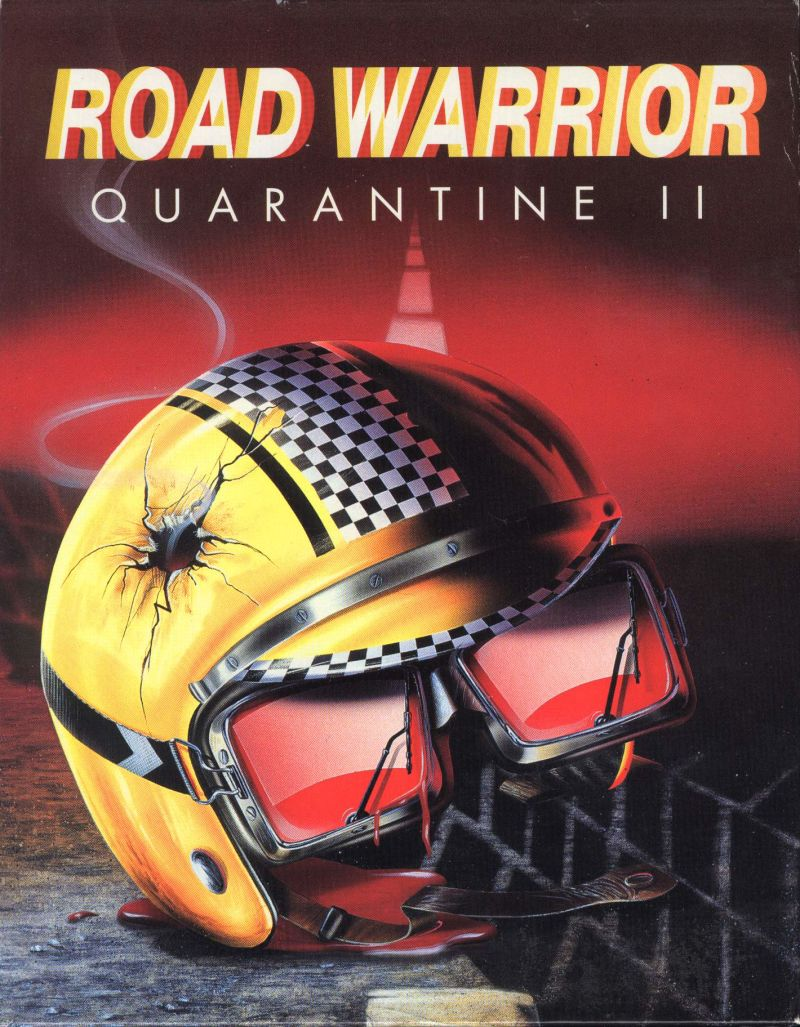 Quarantine 2 Road Warrior DOS Game Cover