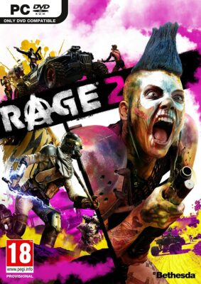 Rage 2 PC Game Box Cover Art