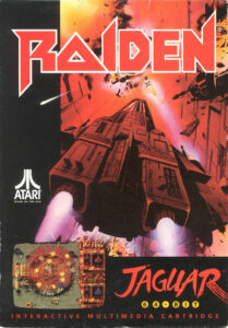 Raiden old DOS Game Box Cover Art 1994