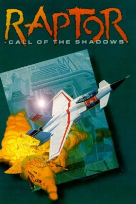 Raptor Call of the Shadows PC Game Box Cover Art