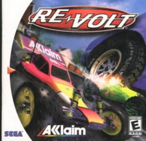 Re-Volt old Racing Game Box Cover Art