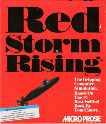 Red Storm Rising PC Game Box Cover Art