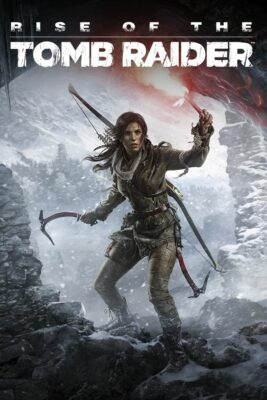 Rise of the Tomb Raider PC Game Box Cover Art