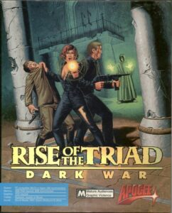 Rise of the Triad: Dark War old DOS Game Box Cover Art