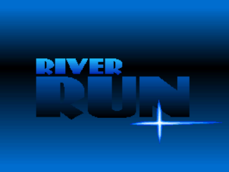 River Run old DOS Game Box Cover Art