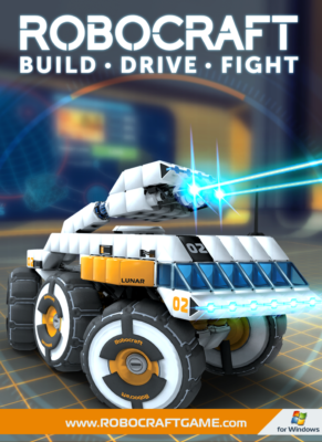 Robocraft PC Game Box Cover Art