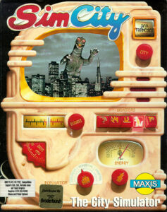 SimCity Game Box Cover Art