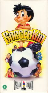 Soccer Kid old DOS Game Box Cover Art