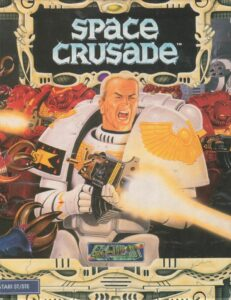 Space Crusade old DOS Game Box Cover Art