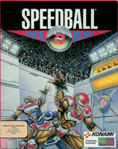 Speedball 2 Brutal Deluxe Game Box Cover Art