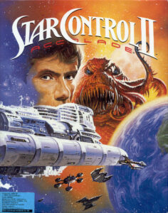 Star Control II old DOS Game Box Cover Art