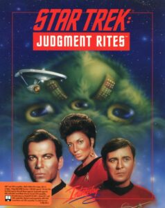 Star Trek: Judgment Rites old DOS Game Box Cover Art