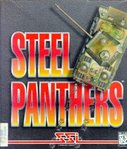 Steel Panthers old DOS Game Box Cover Art