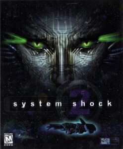 System Shock 2 old PC Game Box Cover Art 1999