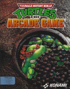 Teenage Mutant Ninja Turtles 2 old DOS Game Box Cover Art 1992
