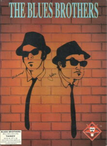The Blues Brothers old DOS game