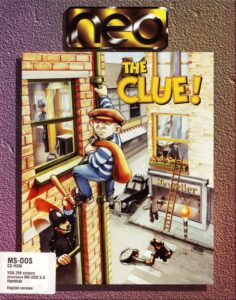 The Clue! Game Box Cover Art