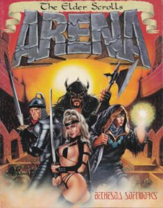The Elder Scrolls Arena Game Box Cover Art