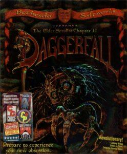 The Elder Scrolls Daggerfall Game Box Cover Art