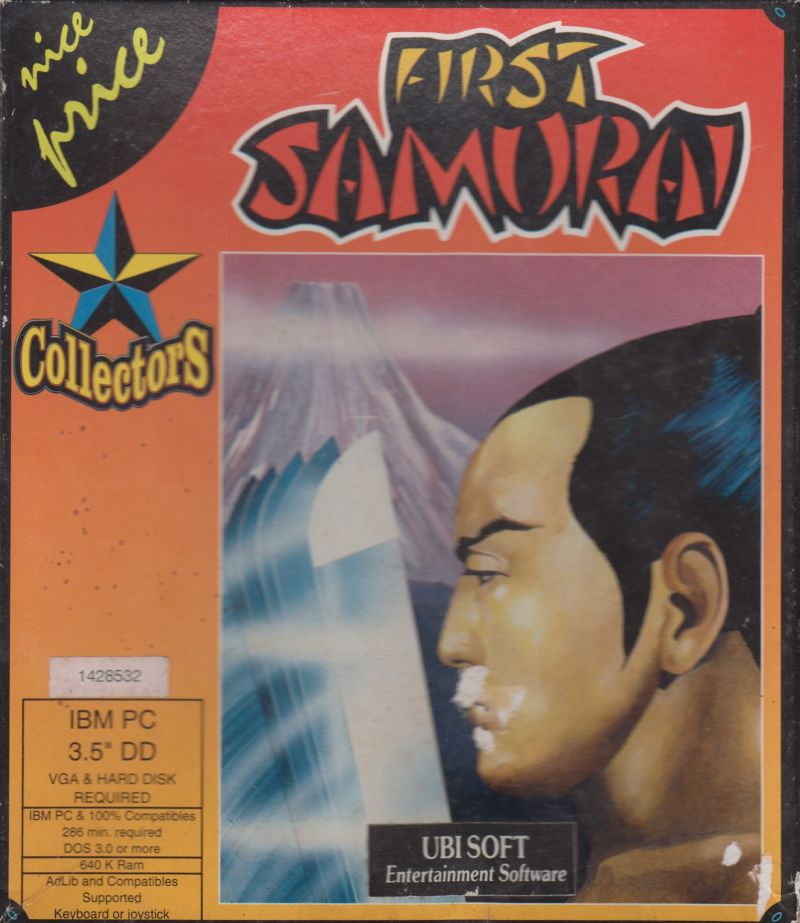 The First Samurai Game Box Cover Art