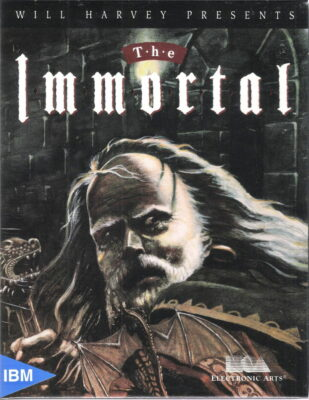 The Immortal DOS Game Box Cover Art