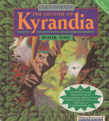 The Legend of Kyrandia DOS Game Cover
