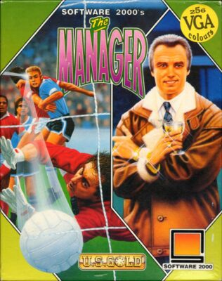 The Manager DOS Game Cover