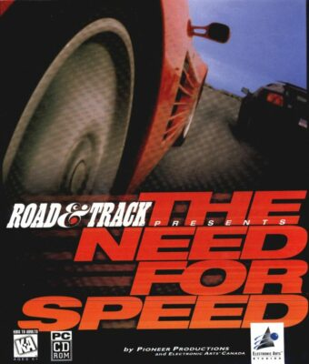The Need for Speed DOS Game Cover