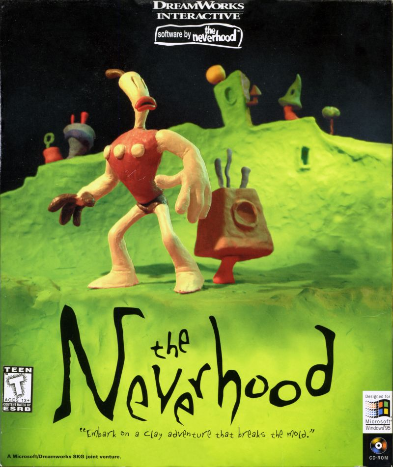 The Neverhood DOS Game Cover