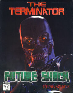 The Terminator: Future Shock old DOS Game Box Cover Art 1995