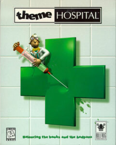 Theme Hospital old DOS Game Box Cover Art 1997