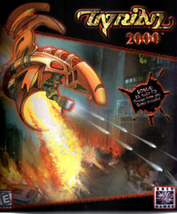 Tyrian 2000 old DOS Game Box Cover Art