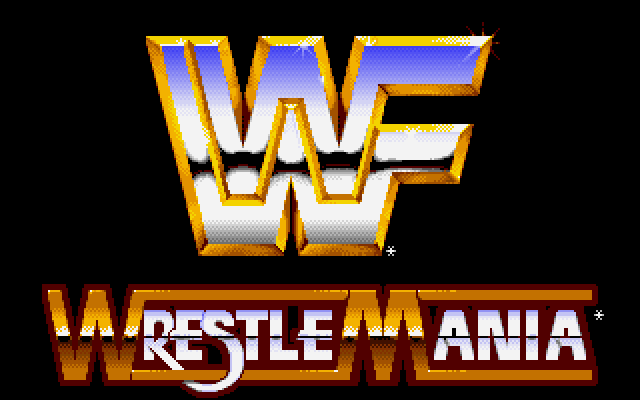 WWF WrestleMania old DOS game 1991