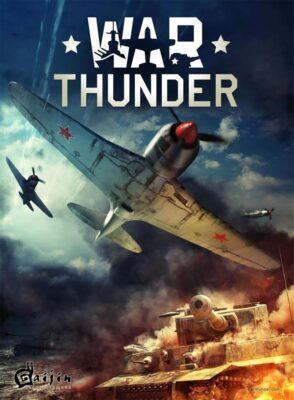 War Thunder PC Game Box Cover Art