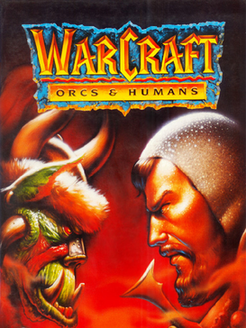 WarCraft Orcs Humans PC Game Box Cover Art