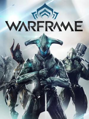 Warframe PC Game Box Cover Art