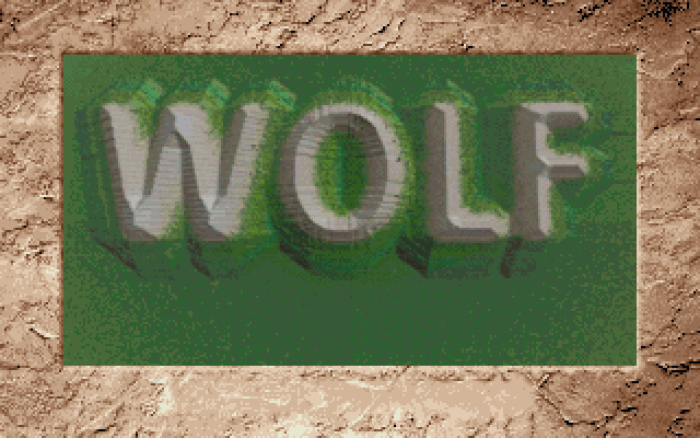 Wolf old DOS game 1994