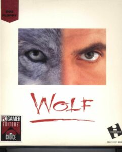 Wolf old DOS Game Box Cover Art