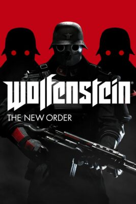 Wolfenstein The New Order PC Game Box Cover Art