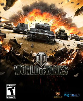 World of Tanks PC Game Box Cover Art