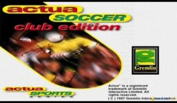 Actua Soccer: Club Edition