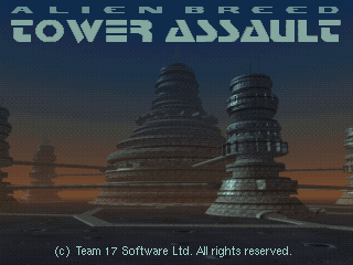Alien Breed Tower Assault action dos game 1994