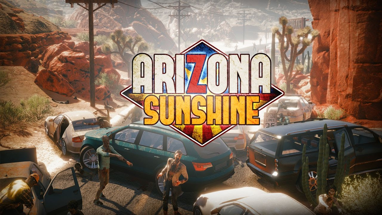 Arizona Sunshine action virtual reality game 2016