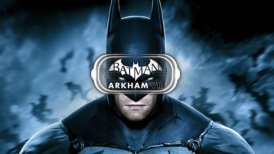 Batman Arkham VR adventure virtual reality game 2017